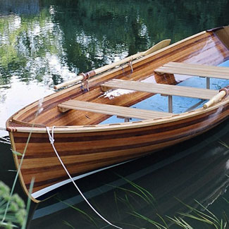 wooden canoes & boats